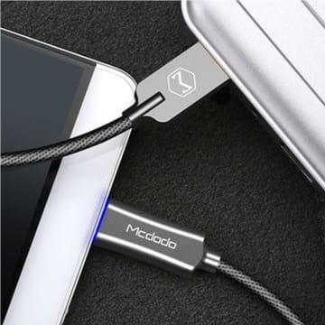 MCDODO KABEL USB TO MICRO USB AUTO POWER OFF 1 M - ABU-ABU_2