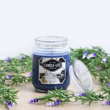 CANDLE LITE EXOTIC MIDNIGHT PETAL LILIN AROMATERAPI 510 GR_2