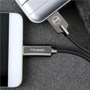 MCDODO KABEL USB TO USB TYPE C AUTO POWER OFF 1 M - ABU-ABU_2