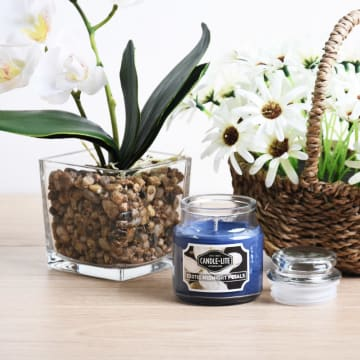 CANDLE LITE EXOTIC MIDNIGHT PETAL LILIN  AROMATERAPI 85 GR_1