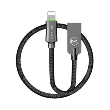 MCDODO KABEL USB TO APPLE LIGHTNING AUTO POWER OFF 1.2 M - ABU-ABU_1