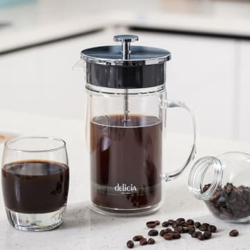 DELICA FRENCH PRESS DOUBLE WALL CAFETIERE S/S 700 ML_1