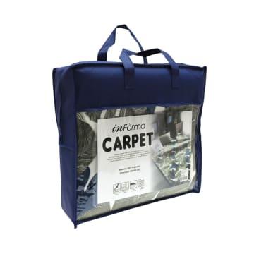KARPET RECTANGLE TROPICAL 130X190 CM - HIJAU_3