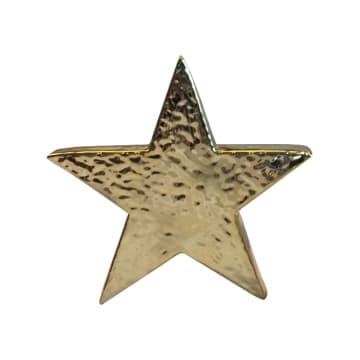 MINIATUR DEKORASI STAR 20.5X4.5X19 CM - GOLD_1