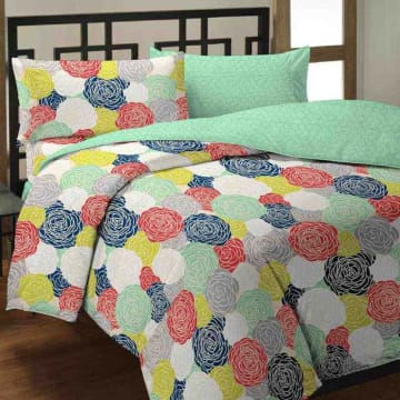 BED COVER BIG FLOWER_1