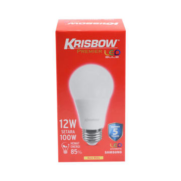KRISBOW BOHLAM LED PREMIER 12 W - WARM WHITE_2