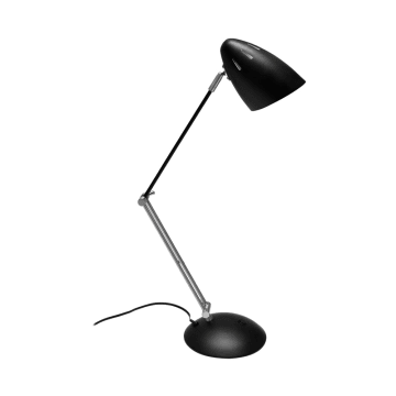 GALEN LAMPU MEJA 43X17X49 CM - HITAM_2