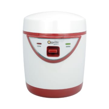 APPETITE HUGO MINI TRAVEL RICE COOKER 300 ML - MERAH_1