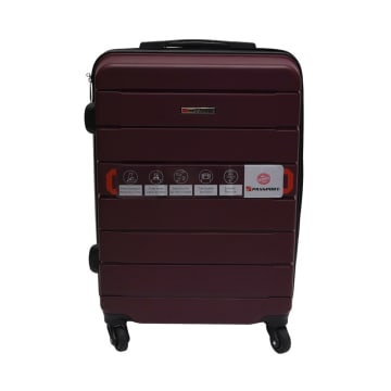 PASSPORT KOPER TOUGH PLUS 24 INCI - BURGUNDY_1