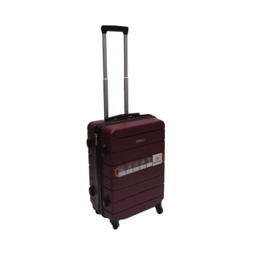 PASSPORT KOPER TOUGH PLUS 24 INCI - BURGUNDY_2