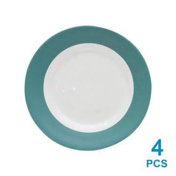 DELIZIOSO SET 16 PCS PERLENGKAPAN MAKAN STONEWARE - HIJAU_4