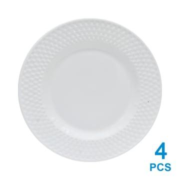 DELIZIOSO SET 12 PCS PERLENGKAPAN MAKAN - PUTIH_3