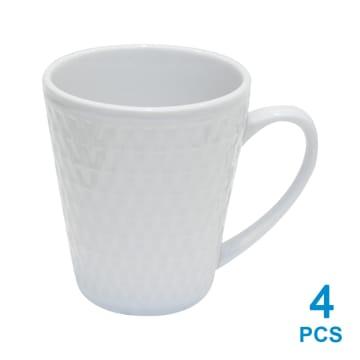 DELIZIOSO SET 12 PCS PERLENGKAPAN MAKAN - PUTIH_4