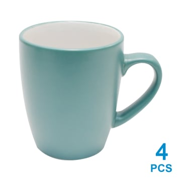 DELIZIOSO SET 16 PCS PERLENGKAPAN MAKAN STONEWARE - HIJAU_5