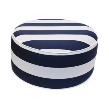 BANTAL SOFA OUTDOOR MOTIF GARIS 53 CM - BIRU TUA_1