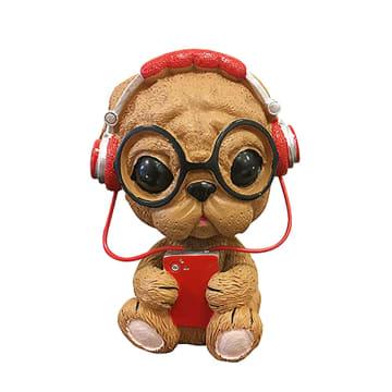 CARAC HIASAN DASBOARD MOBIL MUSIC DOG_1