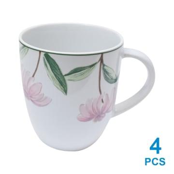 APPETITE SET PERLENGKAPAN MAKAN PINK FLOWER 16 PCS_3