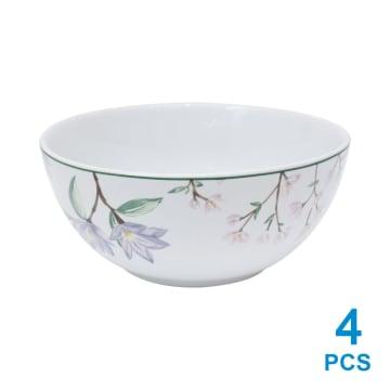 APPETITE SET PERLENGKAPAN MAKAN PINK FLOWER 16 PCS_4