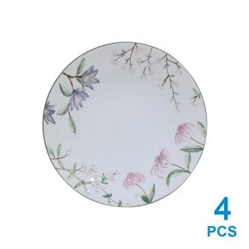APPETITE SET PERLENGKAPAN MAKAN PINK FLOWER 16 PCS_6