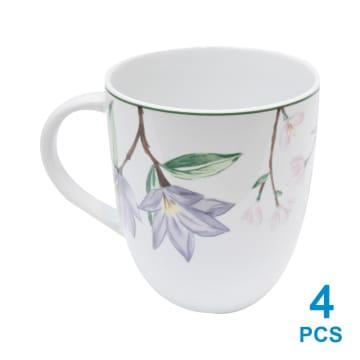 APPETITE SET PERLENGKAPAN MAKAN PINK FLOWER 16 PCS_2