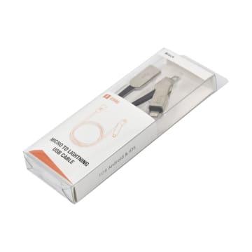 ATARU KABEL USB TO MICRO/LIGHTNING - HITAM_2