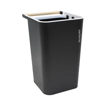 ZEN TEMPAT SAMPAH PLASTIK OPEN TOP 10 LTR - HITAM_1