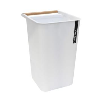 ZEN TEMPAT SAMPAH PLASTIK OPEN TOP 10 LTR - PUTIH_1