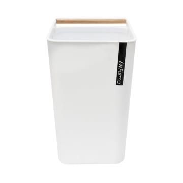 ZEN TEMPAT SAMPAH PLASTIK OPEN TOP 10 LTR - PUTIH_2