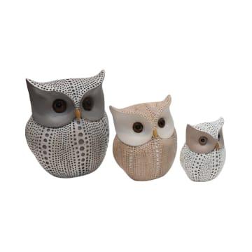 SET MINIATUR DEKORASI OWL 3 PCS_1