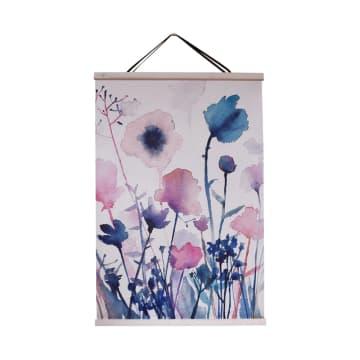 HIASAN DINDING FLOWERS KA15 80X120 CM_1