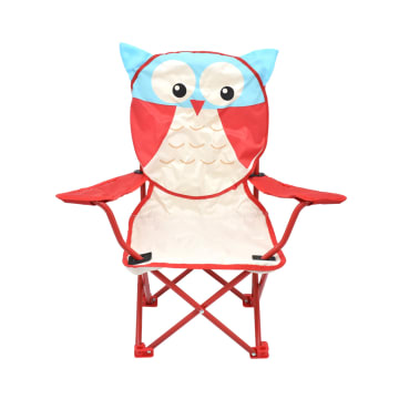 SOLEIL KURSI LIPAT ANAK KARAKTER OWL_1