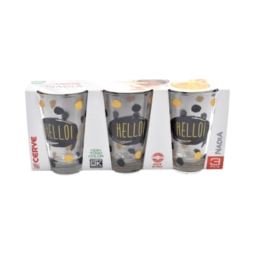 CERVE SET GELAS TUMBLER MEETING HELLO 3 PCS_1