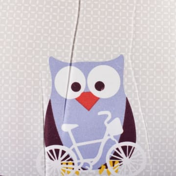 KRISHOME SET SEPRAI DAN BED COVER OWL_3
