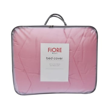 FIORE BED COVER TENCEL 210X210 CM - PINK_1