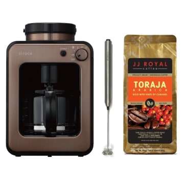 SIROCA COFFEE MAKER FULLY AUTOMATIC_1