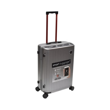 HEYS KOPER SMART LUGGAGE 30 INCI - SILVER_2