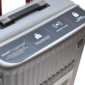 HEYS KOPER SMART LUGGAGE 30 INCI - SILVER_3
