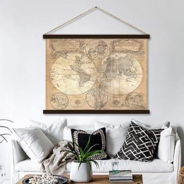 HIASAN DINDING WORLD MAP 120X80 CM_2