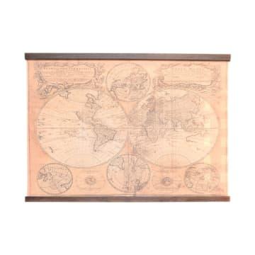 HIASAN DINDING WORLD MAP 120X80 CM_1