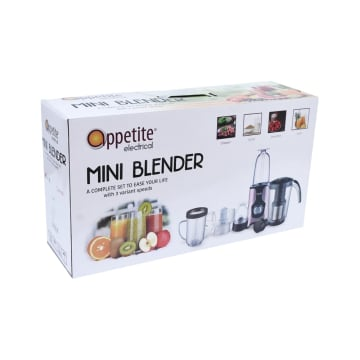 APPETITE ELECTRICAL NADA SET MINI BLENDER 6 PCS - PINK_2