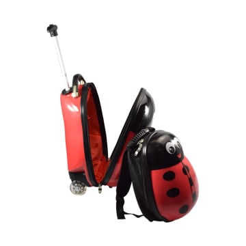 HEYS SET KOPER & RANSEL ANAK ANIMAL LADYBUG_2