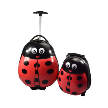 HEYS SET KOPER & RANSEL ANAK ANIMAL LADYBUG_1
