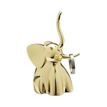 UMBRA TEMPAT CINCIN ZOOLA ELEPHANT - BRASS_1