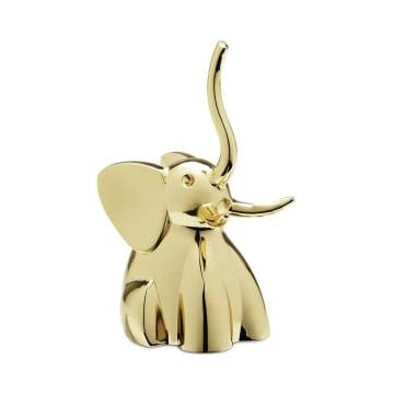 UMBRA TEMPAT CINCIN ZOOLA ELEPHANT - BRASS_2