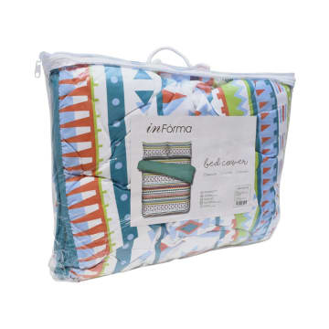 BED COVER MICROFIBER DARCY 210X210 CM_2