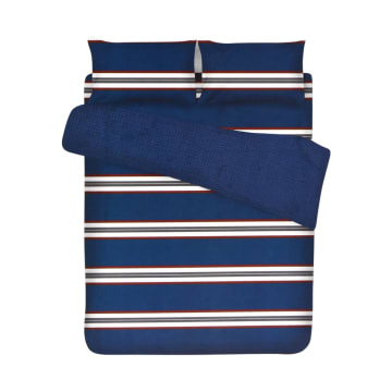 BED COVER MICROFIBER RUGBY STRIPE 210X210 CM_1