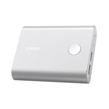 ANKER POWER BANK POWERCORE 13400 QC 3.0 A1316H41 - SILVER_1