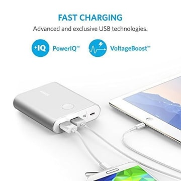 ANKER POWER BANK POWERCORE 13400 QC 3.0 A1316H41 - SILVER_3