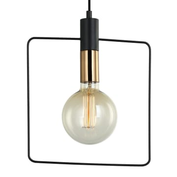 LAMPU GANTUNG HIAS GEOMETRIC SQUARE 28 CM_2