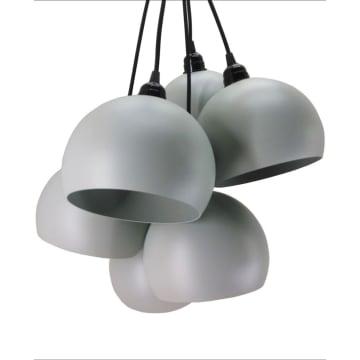 GODWIN LAMPU GANTUNG HIAS 6L 40X220 CM - ABU ABU_1